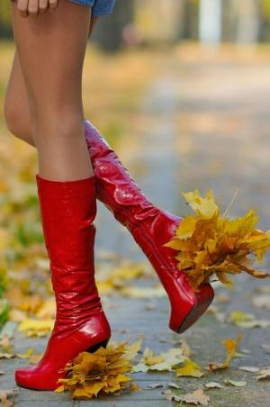 Давай с тобой по осени пройдём!